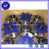 ANSI ASME DIN En1092-1 Nickel Alloy Steel Forging Weld Neck Flange (1.7335, 13CrMo4-5, 15CrMo)