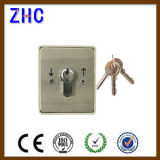 Electric Rolling Door Aluminum Casting Safety Key Operated Switch