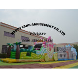 Carriage Inflatable Obstacle Course for Jumping Slide