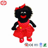 Happy Toy Plush Stuffed Golliwog with Red PU Shoes Doll