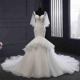 High Quality Beading Mermaid Wedding Gown