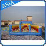Inflatable Three Lanes Bungee Run Sport Games