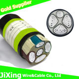 XLPE Insulated Yjv Ground Cable Aluminum Power Cable