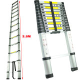 3.8m Extension Step Telescopic Bamboo Ladder