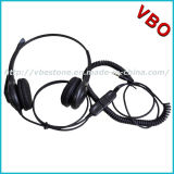 3.5mm Connector Call Center Telephone Headset with Noise Cancelling Microphone
