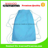 Blue Simply Design Polyester Backpack