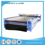 160260 150W Doube Heads Fabric CO2 Laser Cutting Machine