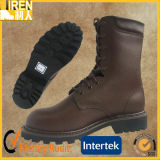 New Fashion Soft Leather Genuine Cow Leather Military Combat Boot