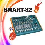 Smart-82 8 Channel Mini Audio Mixer, Musical DJ Mixer