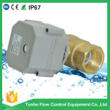 1 Inch Mini Motor Operated Motorized Electric Spring Return Motorized Ball Valve