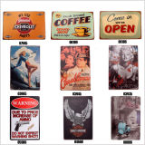 2016 Hot Sale 20X30cm Vintage Christmas Tin Sign