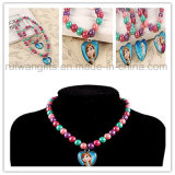 Children′s Jewelry Set Necklace and Bracelet, Frozen Jewelry