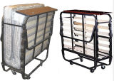 Hot Selling Hotel Folding Extra Bed with Wheels (KW-C86)