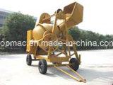 Topmac Brand Mobile Diesel Concrete Mixer