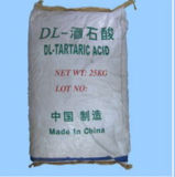 Dl-Tartaric Acid (L-tartaric acid, D-tartaric acid) for Food Additive
