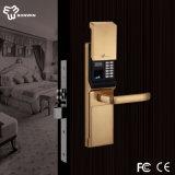 Best Door Lock Unlocked Via Fingerprint/Mechanical Code/Key