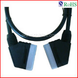 100% Tested 21p Male to Male AV Cable Scart Cable (SY027)