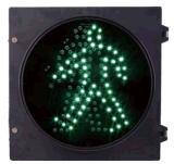 Pedestrian Traffic Light Green Walk Man Static 8 Inch 200mm