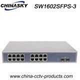 2 Port SFP + 16 Port RJ45 Ethernet Gigabit Switch (SW1602SFPS-3)