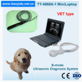 Veterinary Mini Laptop B Ultrasound Scanner (TY-6858A-1)