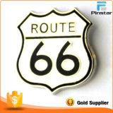 Hot Sale Route 66 Metal Lapel Pin