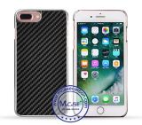 Luxury Carbon Fiber Electroplate PC Mirror Case for iPhone 7 Plus Wholesale 2016