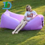 Outdoor Portable Waterproof Air Sofa on Garden Beach