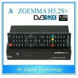 Linux Kernel Multisteam Decoder Zgemma H5.2s Plus Satellite/Cable Receiver Hevc/H. 265 DVB-S2+S2X/T2/C Triple Tuners