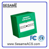 Resettable Emergency Door Release with 2 Pole (SACP22G(Green))