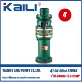 4′ Outlet QY Oil-Filled Submersible Pump Clean Water Pump(single stage)