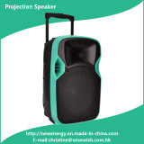 Newest Hot Selling Portable Multimedia Speaker with LED Projector