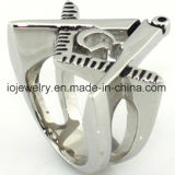 Csutom Mason 316L Stainless Steel Jewelry Ring