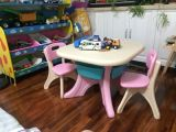 2017 Children Plastic Table and Chair (HBS17076B)