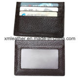 Leather PVC Card Wallet Business Card Holder with Logo