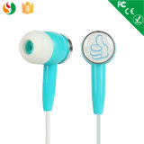 Factory Hot Selling Sport Customized Stereo Earphone with Quare Case for MP3