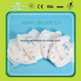 Disposable Baby Pull up Diapers Pants with PE Cloth-Like Film