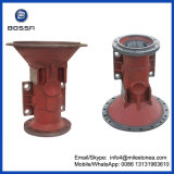 Trailer or Tractor Rear Axle Shaft Housing Casting Parts with Customized