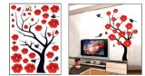 Flower Series Wall Sticker PVC Vinyl