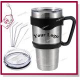 Custom Logo 20oz 30oz 18/8 Stainless Steel Vacuum Beer Cup Yeti Rambler Tumbler