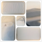 White Hard Cotton Foam with Microfiber Cover