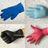 Various Color Disposable Examination Nitrile Glove