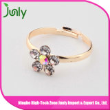 Latest Fashion Popular Design Diamond Ring Flower Ring