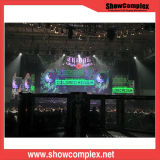 P3.91 Video Display Screen Big LED Video Stage Setting for Rental
