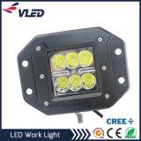 Auto off Road 18W Flush Mount LED 12V 24V DC Mini 24W LED Work Light for Truck Car Boat Bar 4X4