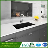 Stain Resistant Super White Quartz Stone Countertop for Kitchen and Bathroom