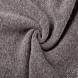 Yark Hair and Wool Fabric with Knitted for Winter in Gray