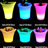 Cylinder Ice Bucket Light up Wedding Ice Bucket