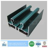 Green Powder Coated Aluminium Frame for Sliding Window