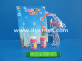 Battery Operated Transparent Bubble Toy Gun (716916)