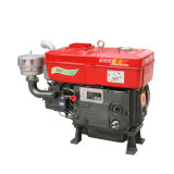 4-Stroke Small Single Cylinder Marine Water Cooled Diesel Engine (Zs1115 20HP)